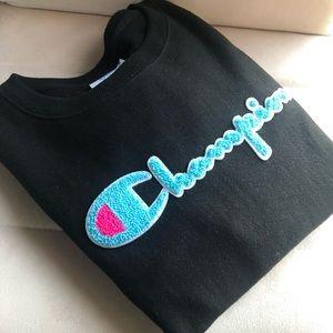 Champion reverse weave sweatshirt-💙💗🖤